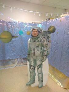 Фотозона «Я в мире космоса»